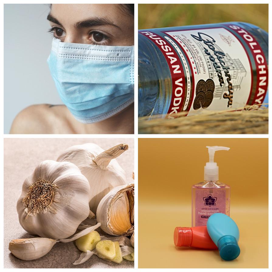 Действия и советы, которые бесполезны при борьбе с коронавирусом (8 фото)