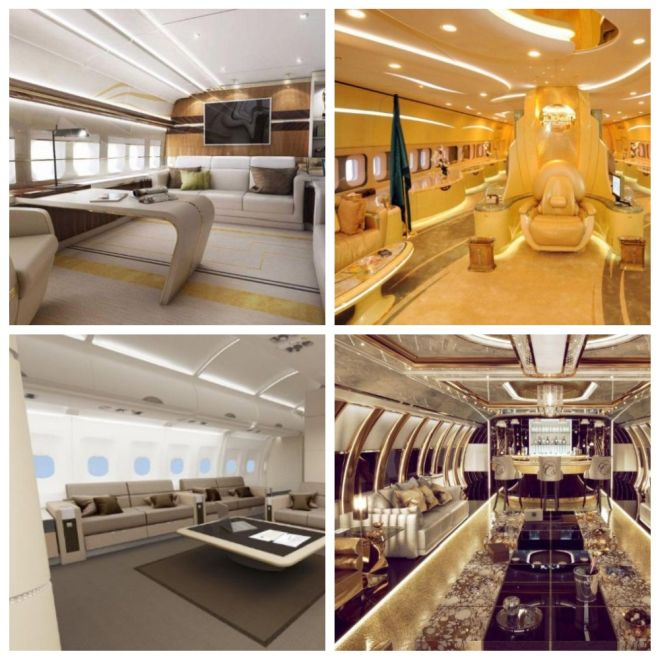 Самые дорогие самолеты в мире и их интерьеры (5 фото)