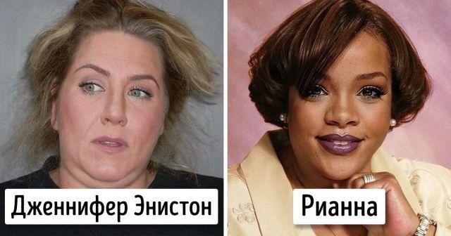Дженнифер Энистон и Рианна