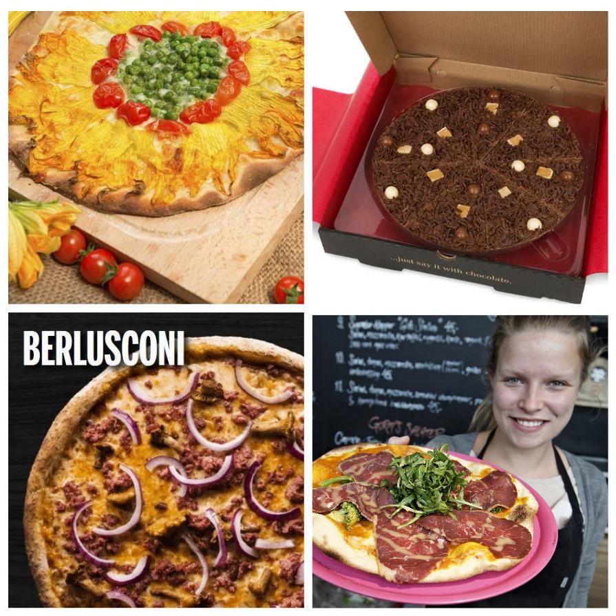 Самые необычные пиццы мира (5 фото)