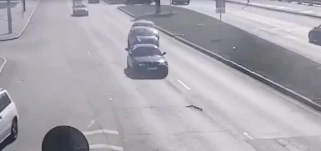 Автомобили на Пироговской набережной