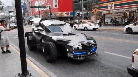 Превью самодельный бэтмобиль