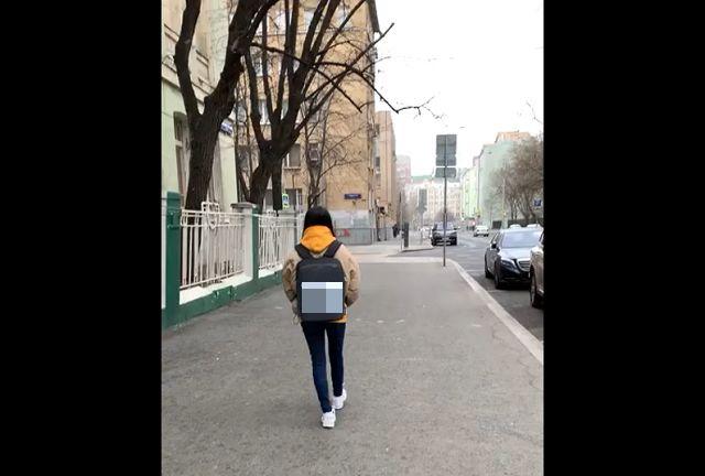 Рюкзак в стиле киберпанк
