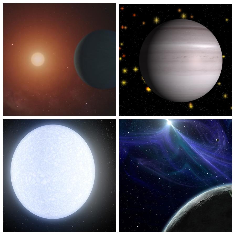 Необычные планеты Вселенной (5 фото)