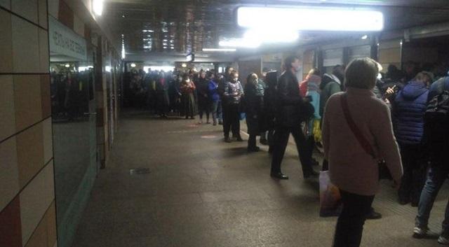 Очереди в метро
