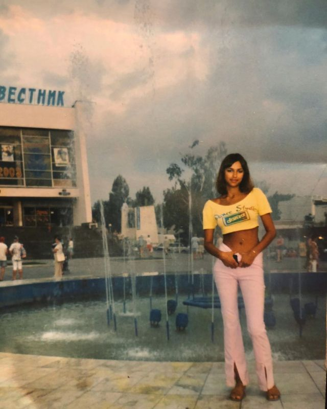 Ирина Шейк в 14 лет