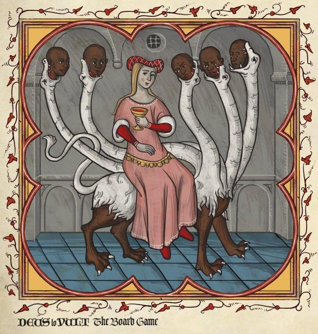 Современные мемы в средневековой интерпретации
