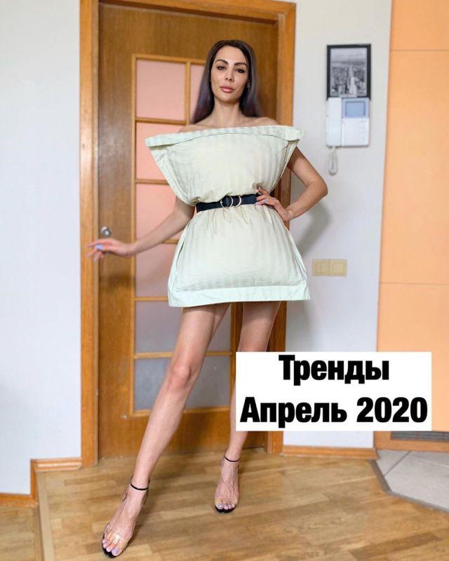 Платье-подушка