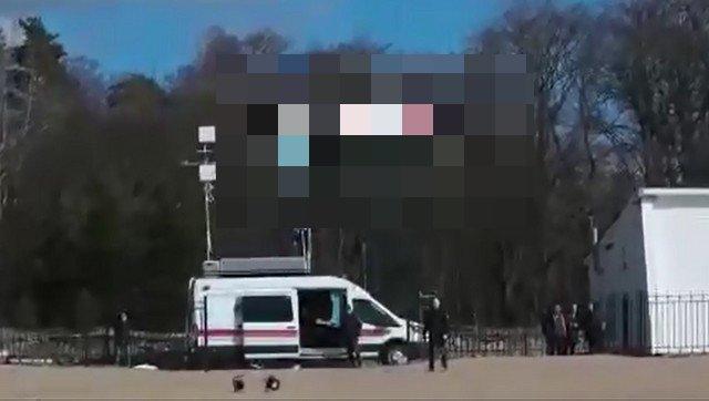 Беспилотник в Санкт-Петербурге