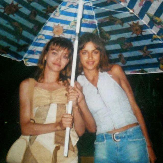 Ирина Шейк с старшей сестрой Татьяной