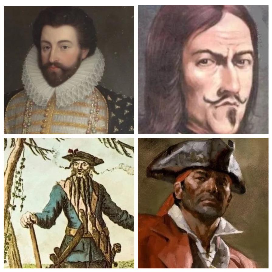 Самые грозные пираты мира (5 фото)