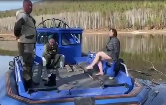 Чиновники пытались поджечь лес