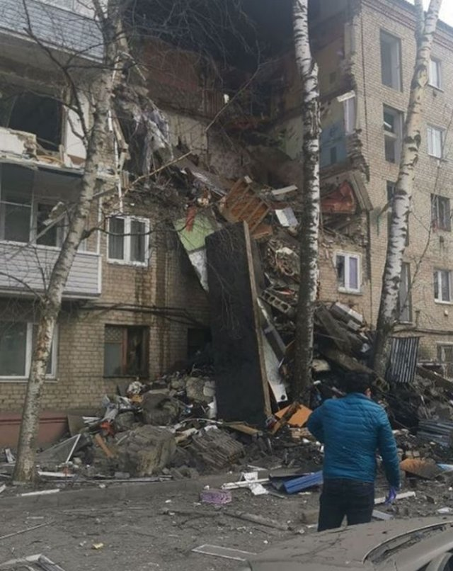 В жилом доме в Орехово-Зуеве прогремел взрыв — есть погибшие (3 фото + 5 видео)