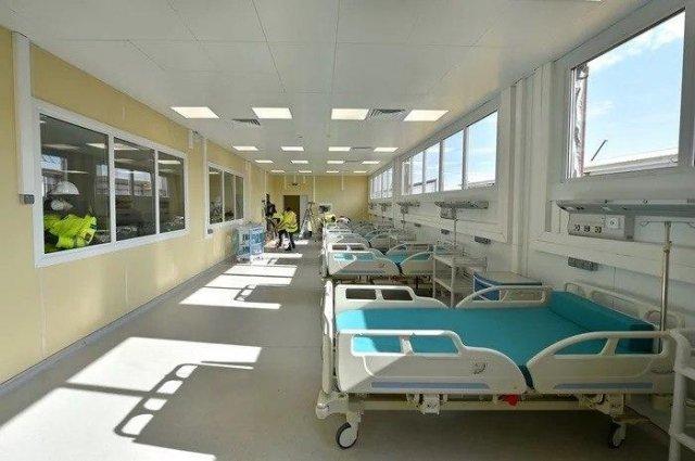 Автономная инфекционная больница в Новой Москве