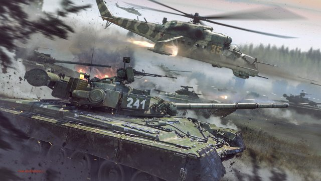 Карантинные манёвры War Thunder