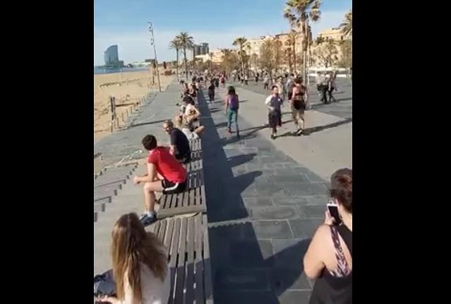 В Испании людям разрешили выходить на пробежки