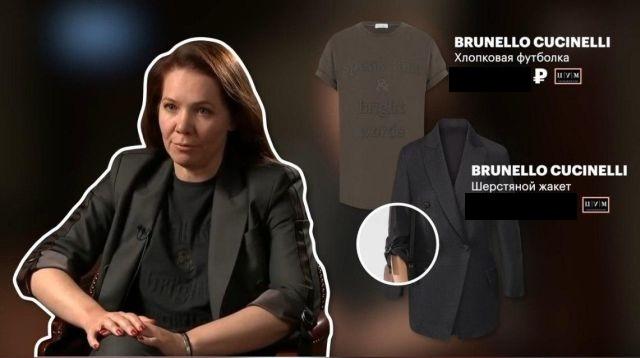 Стоимость одежды заместительницы Собянина Анастасии Раковой