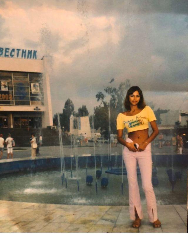 Ирина Шейк в юности
