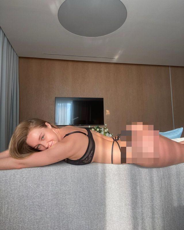 Ольга Катышева в нижнем белье