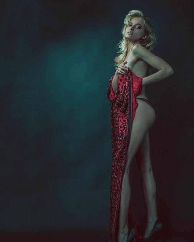 Таня Митюшина в откровенной фотосессии