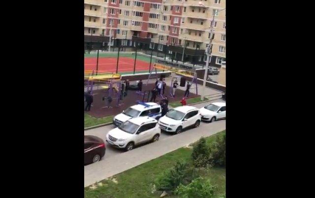 Беспредел полицейских в Домодедово