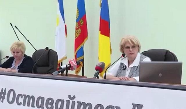Глава администрации Алушты Галина Огнёва