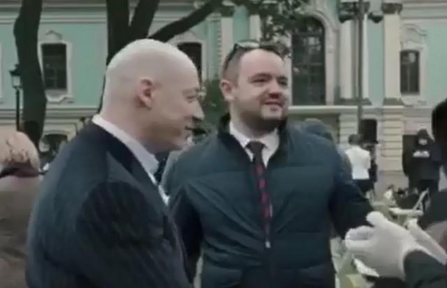 Телеведущий Дмитрий Гордон