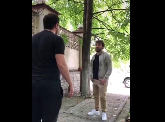 Ссора на улице