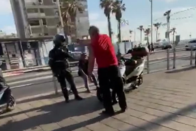 Перегнул палку в разборках с полицейским