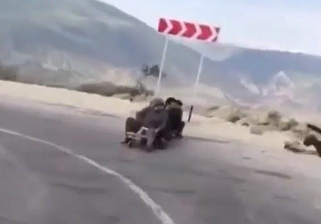 Дорога в Дагестане
