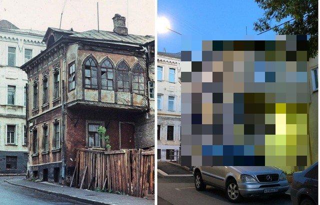Русская архитектура - до и после восстановления (14 фото)