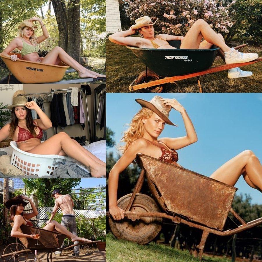 SwimsuitIconChallenge: обычные женщины повторяют снимки супермоделей в бикини (25 фото)