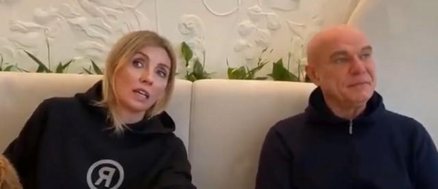 Светлана Бондарчук и Сергей Мазаев