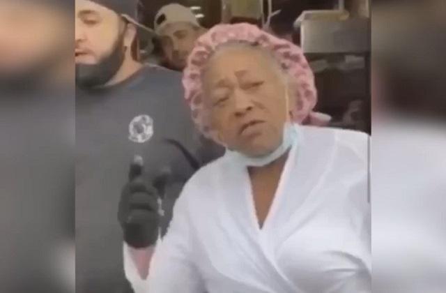 Пожилая афроамериканка