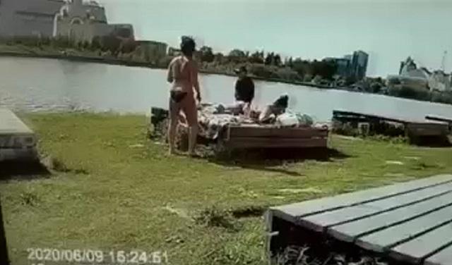 Задержание в парке