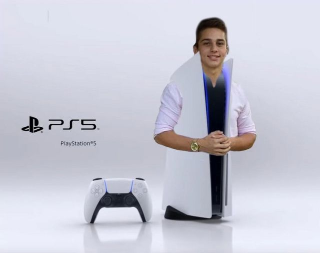 Sony PlayStation 5 мемы