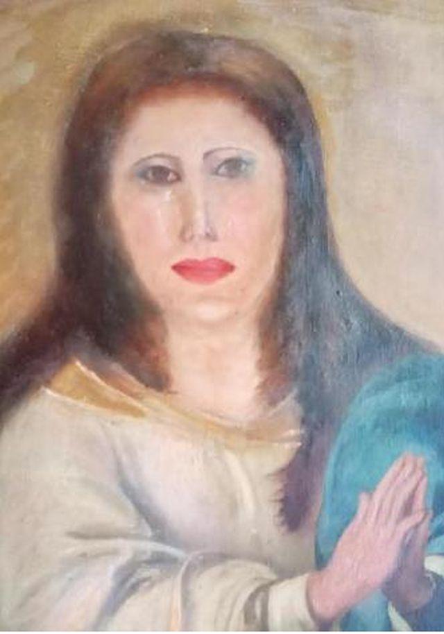 Неудачная попытка реставрации картины
