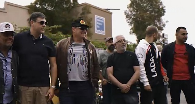 Парад Победы в Лос-Анджелесе
