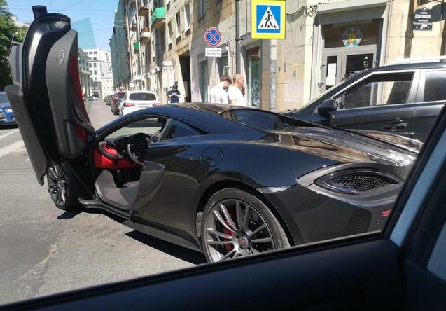 Авария McLaren