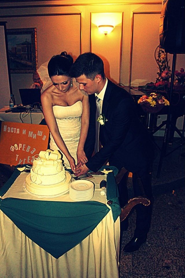 Майкл Эскью с женой