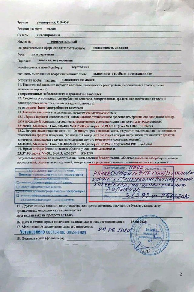 В анализах Михаила Ефремова обнаружили наркотики (2 фото)