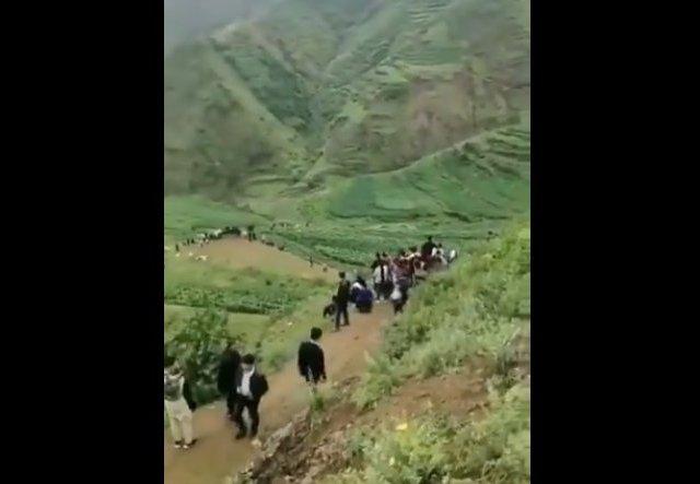 Паника в китайской провинции Гуйчжоу