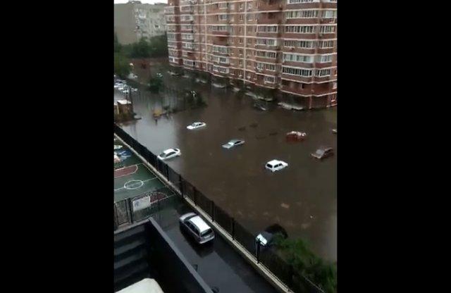 Краснодар затопило