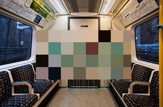 Бэнкси нарисовал новое граффити в лондонском метро (3 фото + видео)