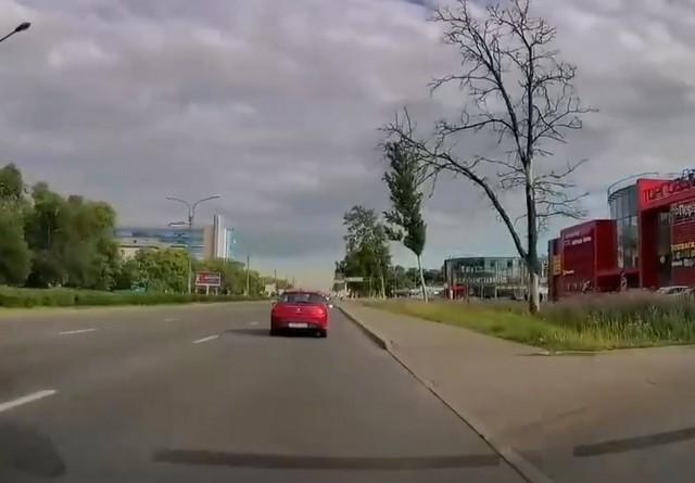 Дорога в Санкт-Петербуге