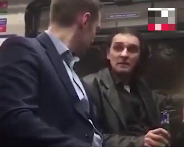 Ссора в поезде