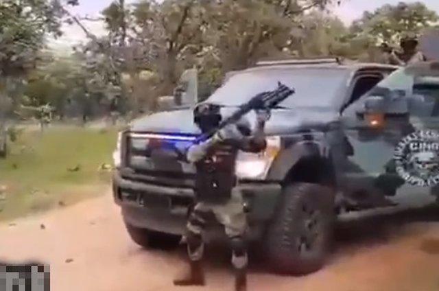 Необычный парад вооруженных сил