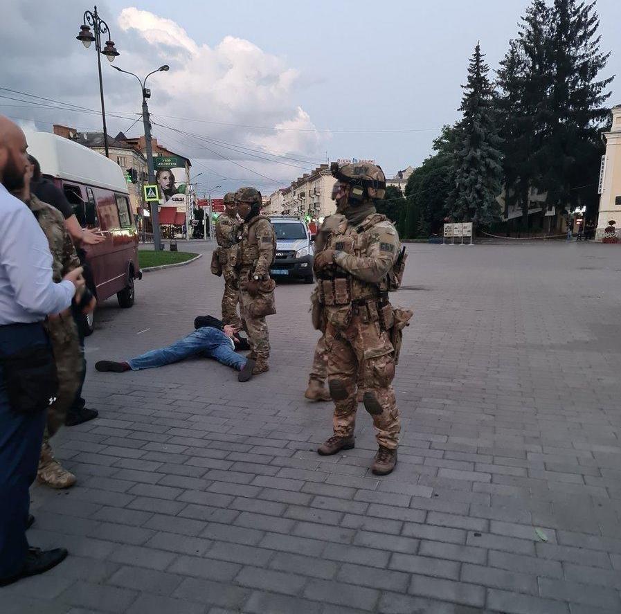 Максим Кривош — террорист из Луцка — был задержан (3 видео + фото)