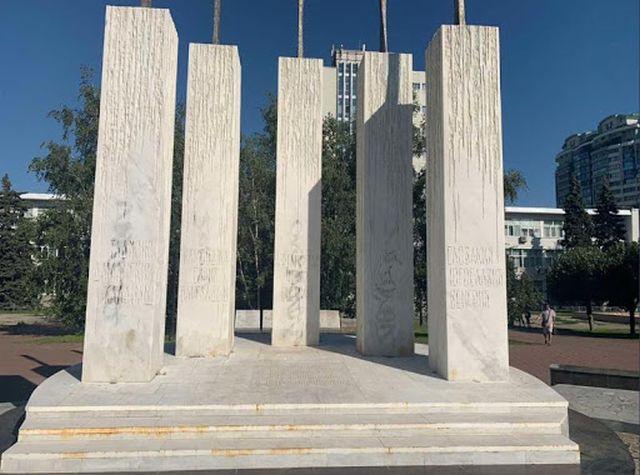памятник солдатам в самаре