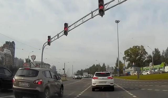 Авария в СПб